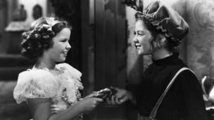"""Shirley Temple en """"La pequeña princesa"""""""