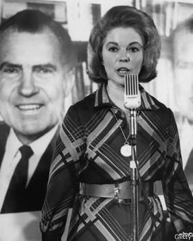 Shirley Temple en su faceta política, en 1968