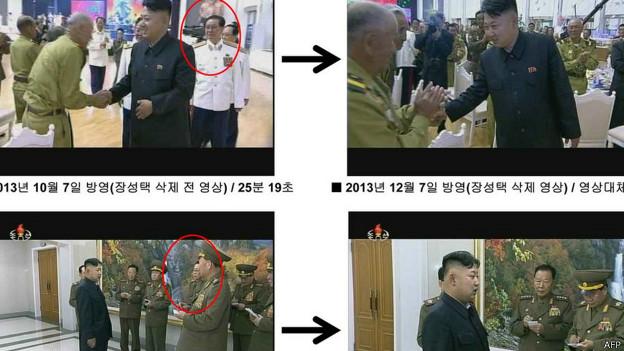 Kim Jong-un y Chang