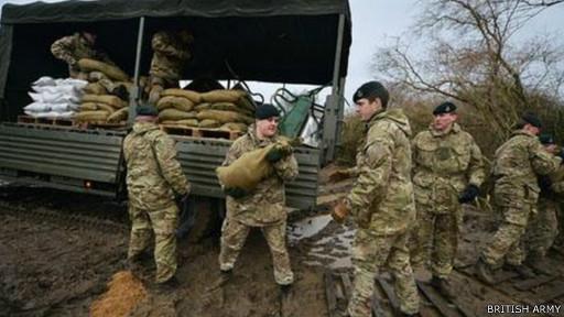 Помощь армии