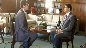 Fernando Haddad, prefeito de São Paulo. BBC Brasil