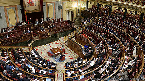 Plenaria del Congreso de Diputados de España
