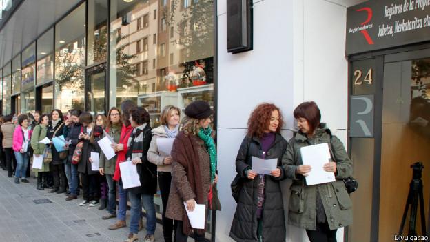 Mulheres registram seu corpo na Espanha (Divulgação)