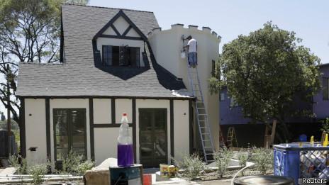Casa estilo Tudor en Silver Lake