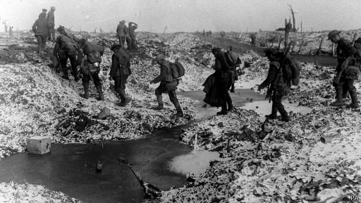 Солдаты в Первой мировой