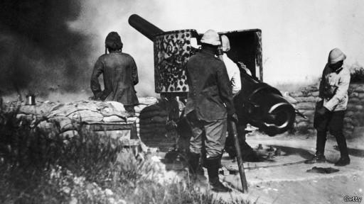 Германская артиллерия в Африке
