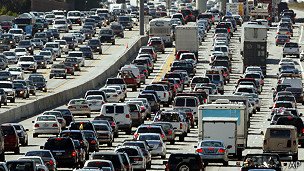 Autopista en Los Ángeles