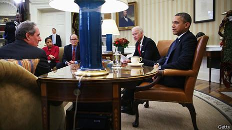 Obama y su equipo de gobierno
