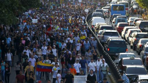 Manifestação em Caracas | Foto: Reuters