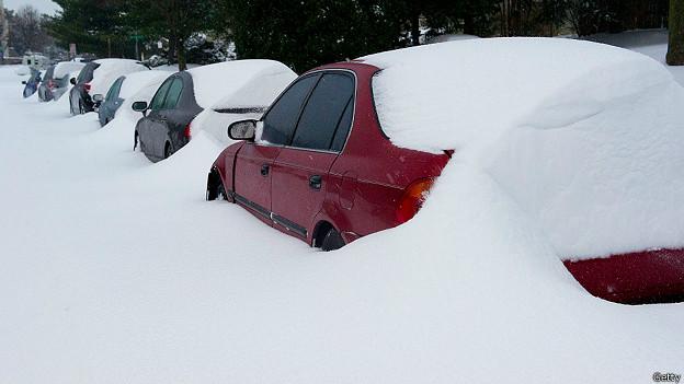 Nevascas no leste dos EUA