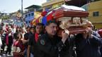 Víctima de la violencia en Venezuela