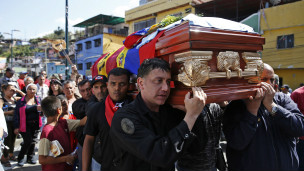 Funeral de Juan Montoya