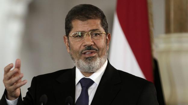 Mohammed Morsi, presidente deposto do Egito | Crédito: AP
