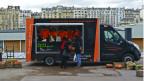 Food truck de alta gastronomia | Crédito: Daniela Fernandes / BBC Brasil