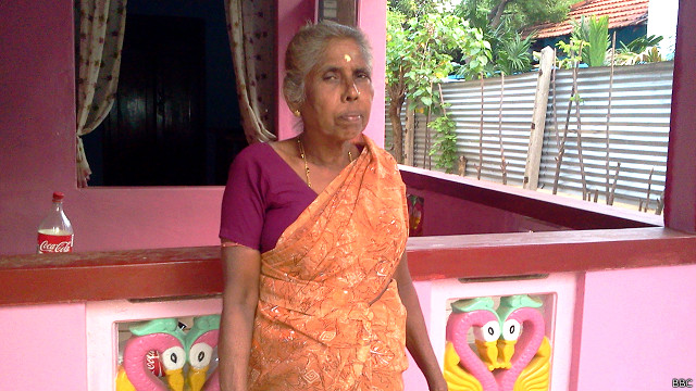 சாந்தனின் தாயார் தில்லையம்பலம் மகேஸ்வரி