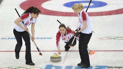 Российская женская команда по керлингу