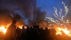 Kiev en llamas