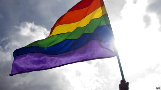 Bandeira gay | Crédito: AFP