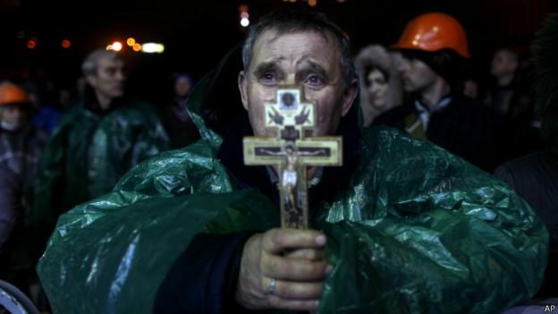 Демонстрант на Майдане