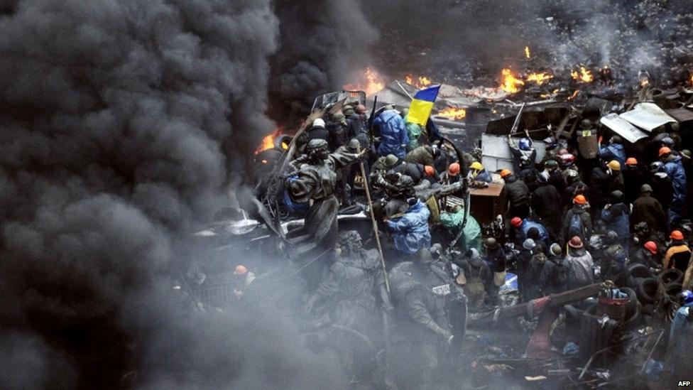 Дым над Майданом