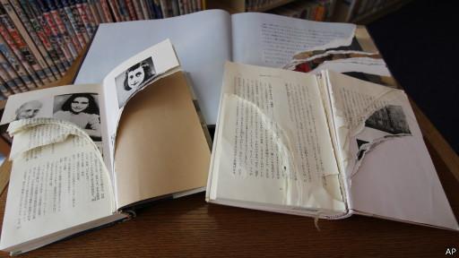 Оскверненная книга в Токио
