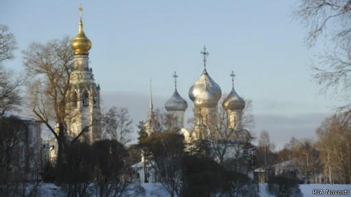 Панорама вологодских храмов
