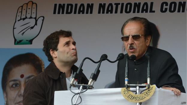राहुल गाँधी, सैफुद्दीन सोज़
