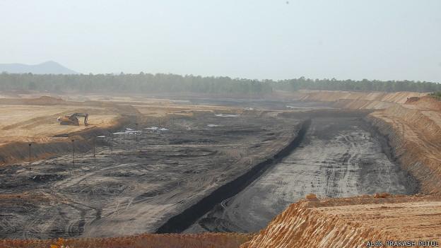 छत्तीसगढ़ में कोयला ब्लॉक की फ़ाइल फ़ोटो