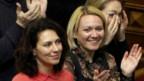Politisi oposisi di parlemen Ukraina