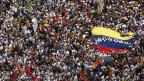Día de marchas en Venezuela