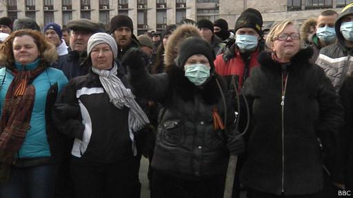 "Митинг-""антимайдан"" в Донецке"