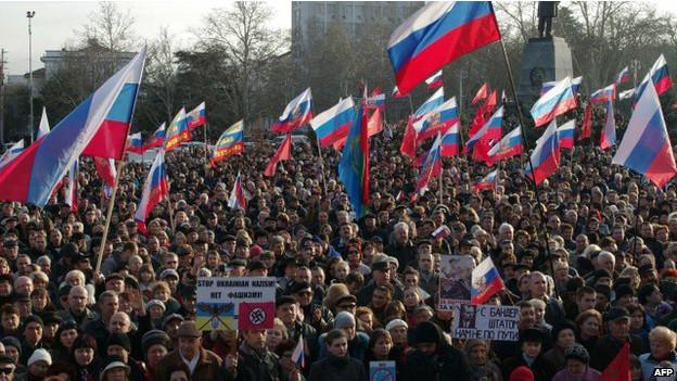 Presidente interino da Ucrânia alerta para 'séria ameaça de separatismo'