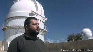José Madiedo, Universidad de Huelva