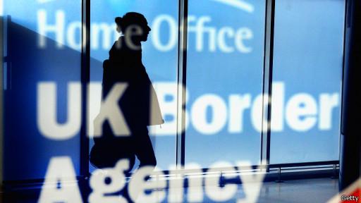 Британская служба пограничного контроля