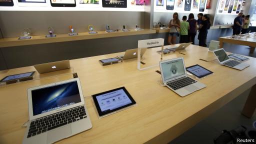 Produtos da Apple (Reuters)