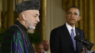 Хамид Карзай и Барак Обама