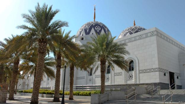 Саудовская мечеть