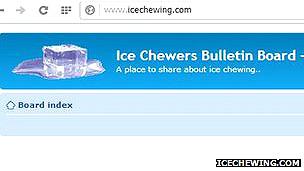 """Sitio del foro """"Masticadores de hielo"""""""