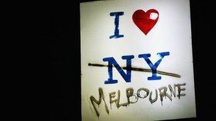 Amo a Melbourne