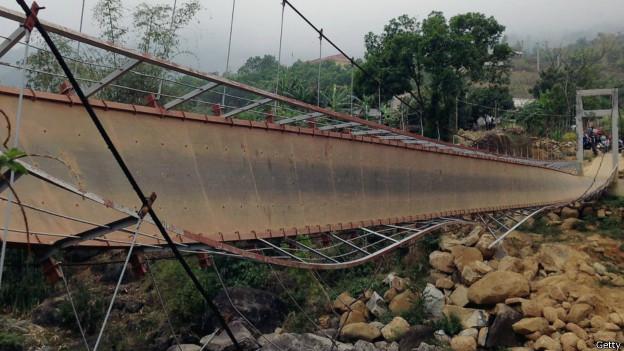 Cầu treo Chu Va 6, Tam Đường, Lai Châu