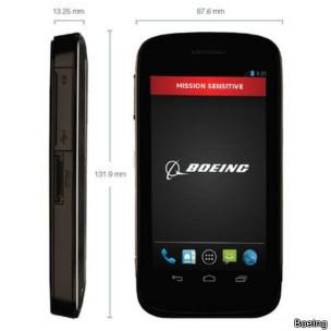 Smartphone seguro da Boeing (Boeing)