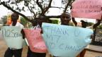 Para pendukung UU baru di Uganda