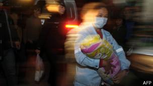 Rescate de bebés en China