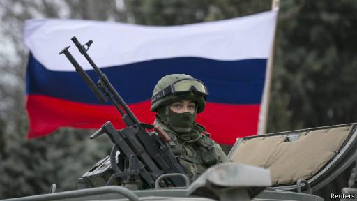 Военные без опознавательных знаков в Крыму