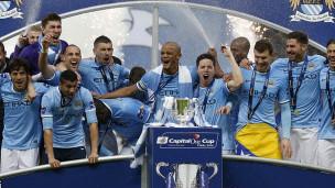 Man City Capital One Champ