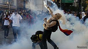 Protestos na Venezuela | Crédito: Reuters