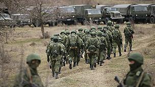 Soldados pro-rusos