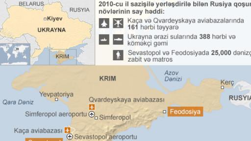 Ukrayna xəritəsi