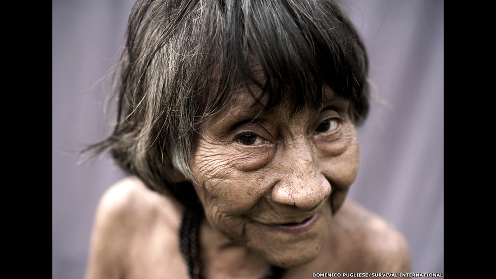 женщина из племени ава