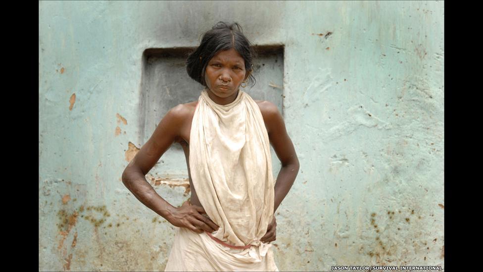 Женщина из племени донгриа-кондх
